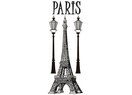 Dimex Dekoračné nálepky na stenu Paris - 65 x 165 cm