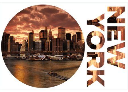 Dimex Dekoračné nálepky Newyork - 85 x 125 cm