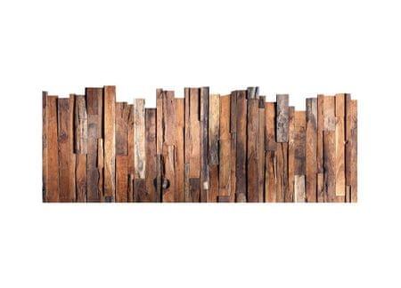 Dimex Dekoračné nálepky na stenu Drevené laty - 65 x 165 cm