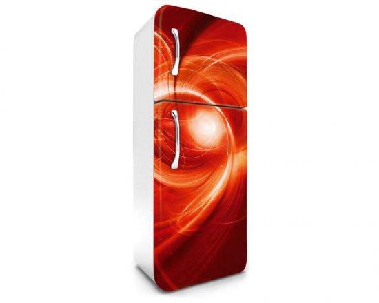 Dimex Fototapeta na chladničku FR-180-016 Abstrakt červený 180 x 65 cm