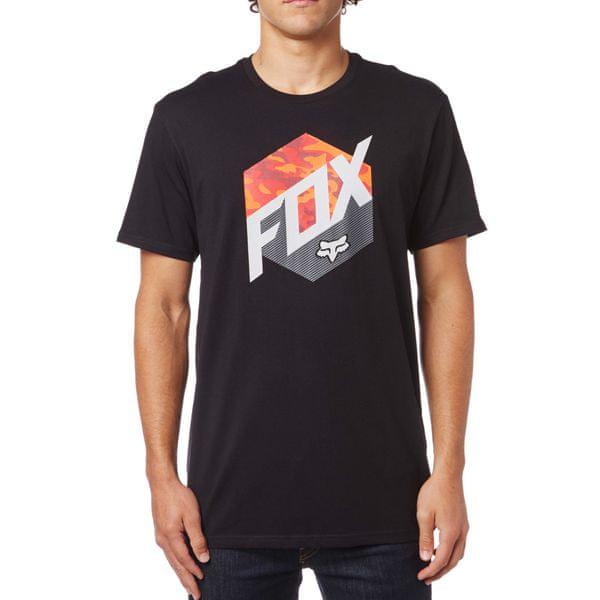 FOX pánské tričko Kasted M černá