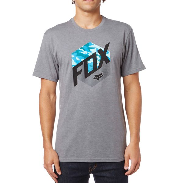 FOX pánské tričko Kasted M šedá