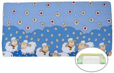 COSING Állatfigurás habszivacs matrac, 60 x 120 cm, Kék