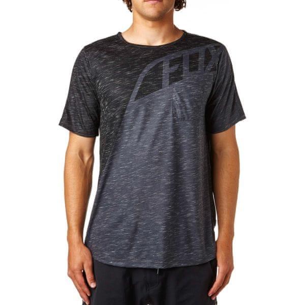 FOX pánské tričko Seca L tmavě šedá