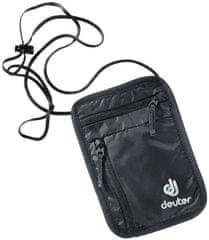 Deuter Security Wallet I pasna torbica, črna
