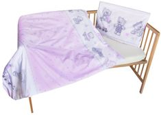 COSING 2-delni komplet posteljnine UDOBJE, medved, roza
