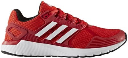 Adidas tekaški copati Duramo 8 M, rdeči/beli, 42