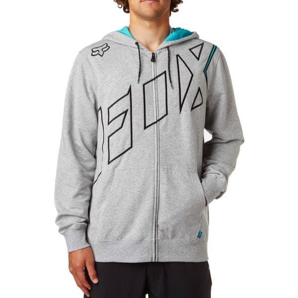 FOX pánská mikina Stretcher Seca Zip XL šedá