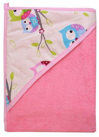 COSING brisača 320g/m2, 100 x 100 cm, roza