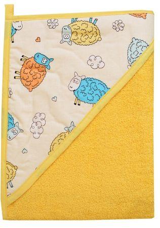 COSING brisača 320g/m2, 100 x 100 cm, oranžna