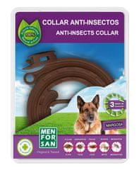 Menforsan naravna ovratnica proti insektom za pse, 100% naravno