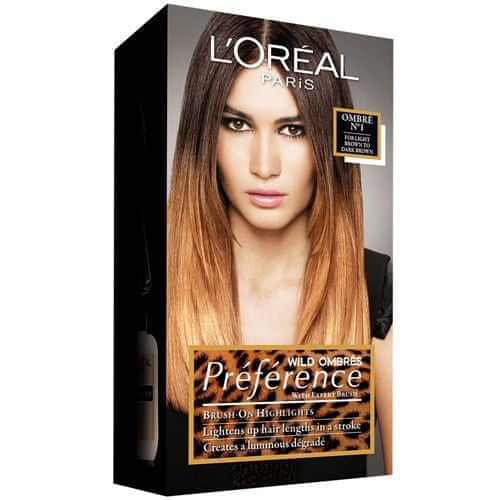L'Oréal Barva na vlasy Préférence Wild Ombrés (Odstín Ombré N°1)