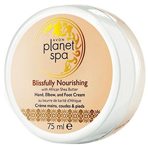 Avon Vyživující krém na ruce, nohy a lokty s bambuckým máslem Planet Spa (Hand, Elbow and Foot Cream Blis