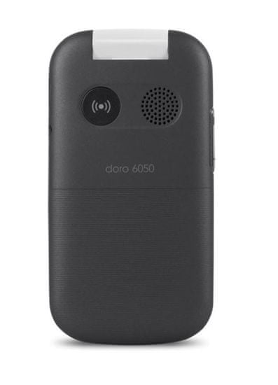 Doro mobilni telefon 6050, sivo-bel