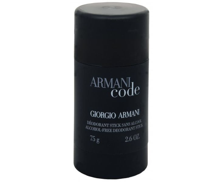 Giorgio Armani Code For Men - tuhý deodorant 75 ml