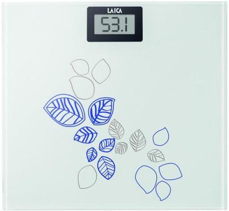 Laica PS1058B Leaf Személymérleg, Kék