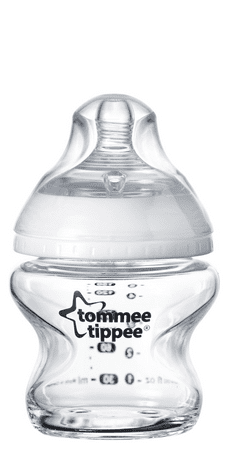 Tommee Tippee Csecsemő cumisüveg C2N üveg, 150 ml