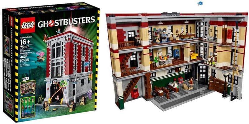 LEGO® Ghostbusters 75827 Hasičská základna