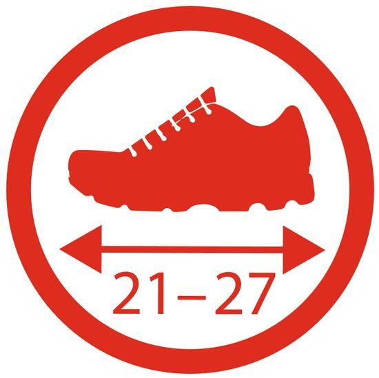 BIG Ochranné návleky na topánočky červené