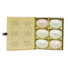 Bronnley Dárková sada mýdel Herbář mýdla 6 x 50 g