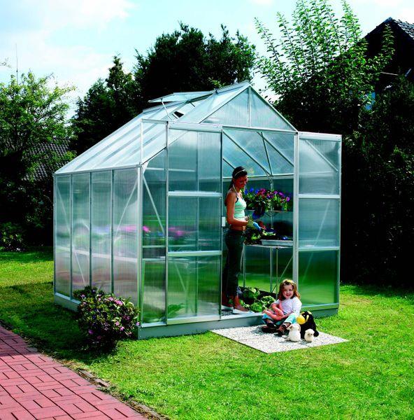 VITAVIA skleník VITAVIA URANUS 6700 PC 6 mm stříbrný