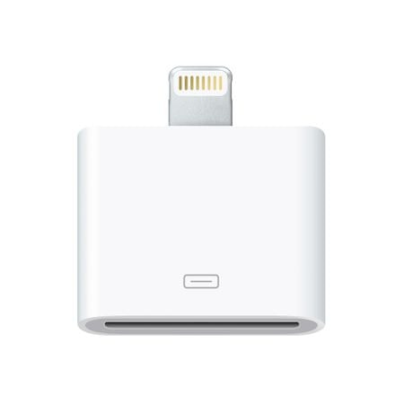Apple adapter Lightning - 30-pin