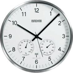 Eurochron Analogové DCF hodiny s teploměrem a vlhkoměrem EFWU 6400, 30,5 cm