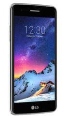LG GSM telefon K8 2017 (M200N), črno-siv