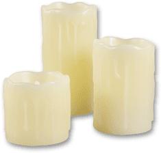 Time Life LED sviečky - súprava 3 ks