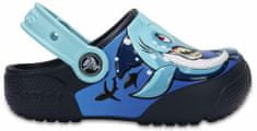Crocs CrocsFunLab Shark/Navy