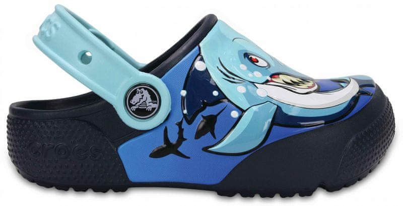 Crocs CrocsFunLab Shark/Navy 32-33