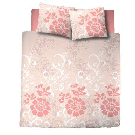 Svilanit bombažna posteljnina Ornaments, bež, 250 x 200 + 2 x 60 x 80 cm