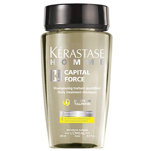Kérastase Energizující šampon pro muže Homme Capital Force (Daily Treatment Shampoo Vita-Energising Effect) 25