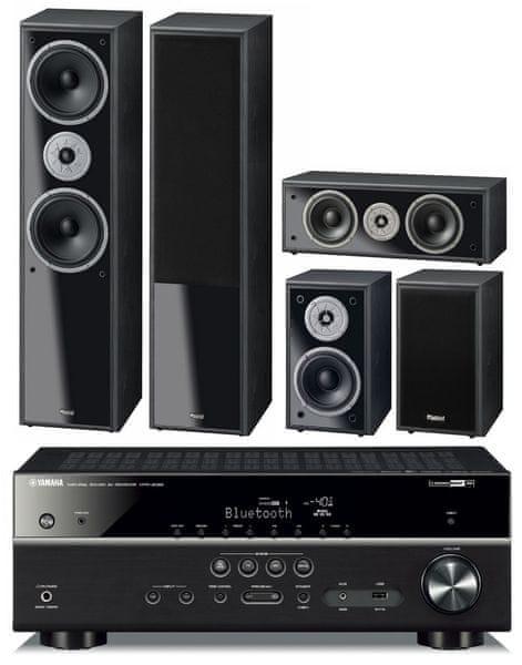 Yamaha HTR-4069 + Magnat Monitor Supreme 800 set, černá