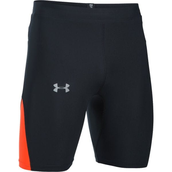 Under Armour Run True Heatgear Half Tight Black Phoenix Fire Reflective
