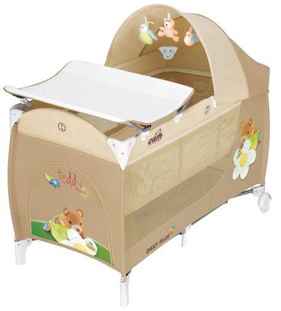 CAM potovalna otroška postelja Daily Plus 84, peščena