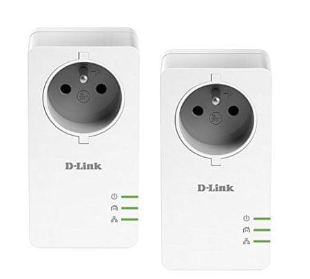 D-Link adapter gigabit PowerLine AV2 DHP-P601AV, kit