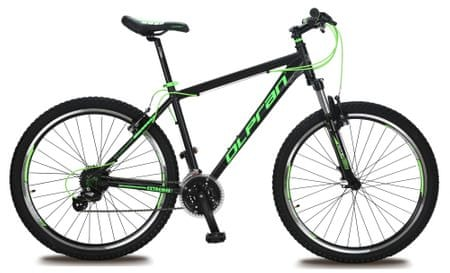 """Olpran gorsko kolo Extreme 27.5"""", črno/zeleno, 21"""""""