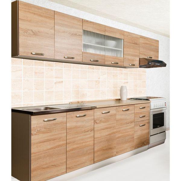 Kuchyně PROMO 200/260 cm, dub sonoma