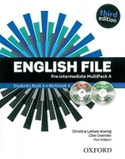 Oxenden Clive, Latham-Koenig Christina,: English File Third Edition Pre-intermediate Multipack A