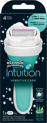 Wilkinson Sword Intuition Sensitive Care holicí strojek + 1 hlavice