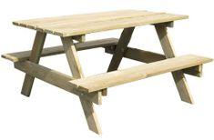 TRIGANO stoleček dřevěný Piknik