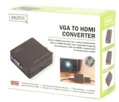Digitus pretvornik VGA/RCA – HDMI