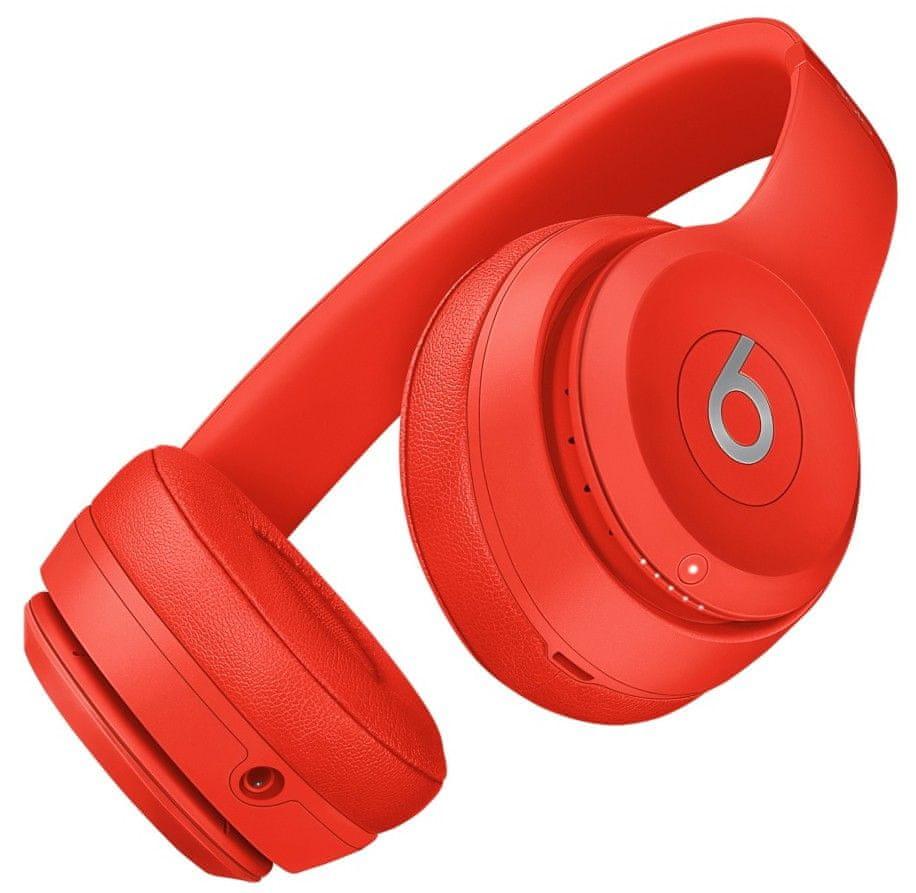 Beats Solo3 Wireless bezdrátová sluchátka červená (MP162ZM/A)