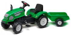 Falk Traktor Farm Master s valníkom, zelený