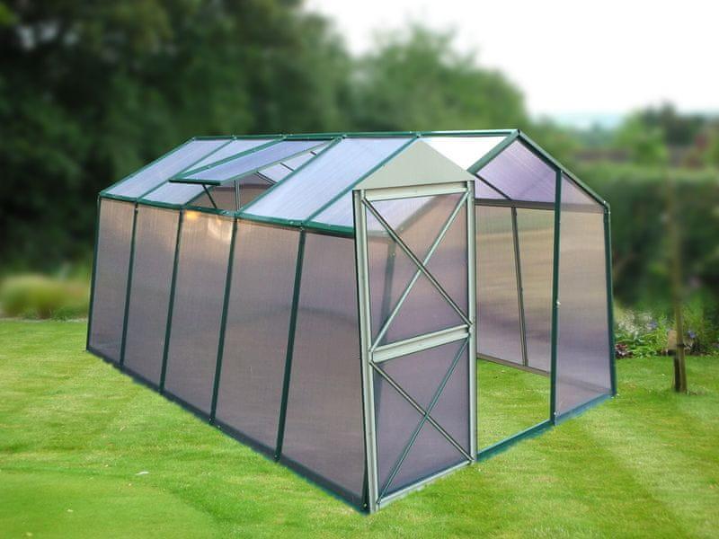 LanitPlast skleník LANITPLAST DODO 8x12 PC 6 mm zelený