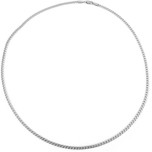 Silvego Pánský stříbrný řetízek Pancr TTT80GDN (Délka 50 cm)