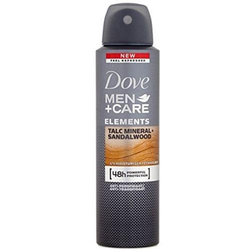 Dove Deodorant ve spreji pro muže Minerals & Sandlewood Men+Care 150 ml