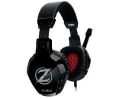 Zalman ZM-HPS300 mikrofonos fekete gamer headset
