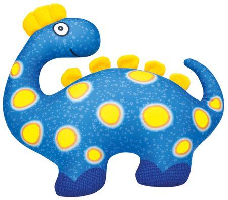 BINO Dinozaur niebieski 33x28cm